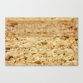 In every grain of sand Canvas Print