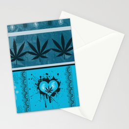 Baby Blue Con Cora Stationery Cards