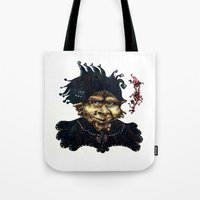 "agents of shield Tote Bags featuring ""Loyal Agents"" by Liz Heller"
