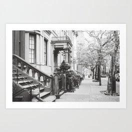 Brooklyn Stoop Art Print