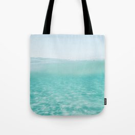 Summer waves on the perfect beach Tote Bag
