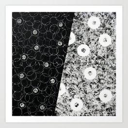 Black and White Dream Art Print