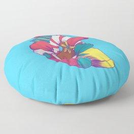 Christmas Heart Floor Pillow