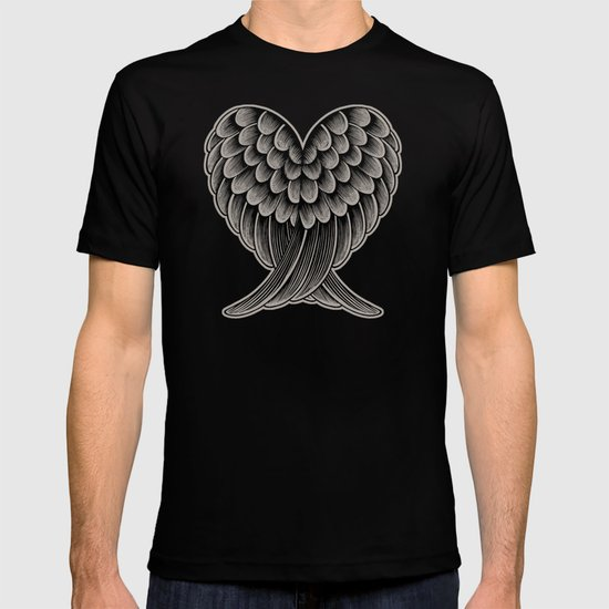 Heart Wings [Reversed Version] T-shirt
