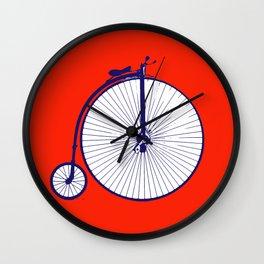 on your bike Wall Clock