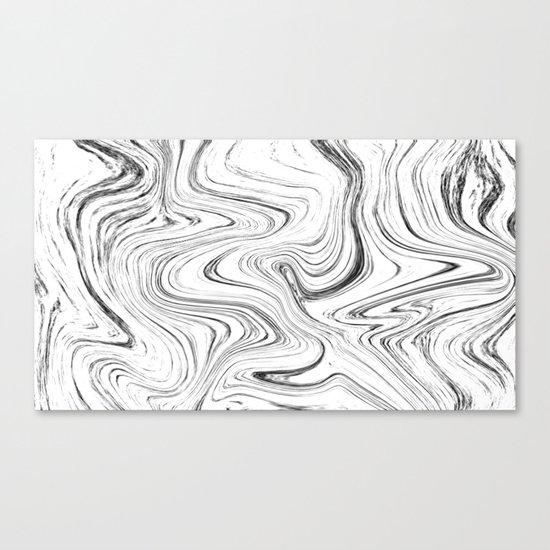 Marble (watecolor) Canvas Print
