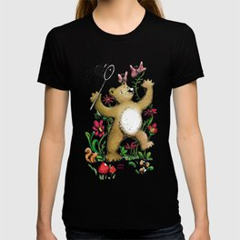 Bear and butterfly T-shirt
