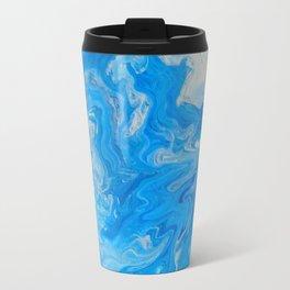 Fluid Blue 1 Travel Mug