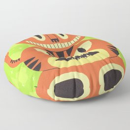 Totem Cat Floor Pillow