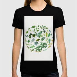 Circle of Leaves T-shirt