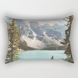 Moraine Lake II Banff National Park Rectangular Pillow