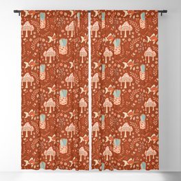 Party Of One Goldfish Birthday Blackout Curtain