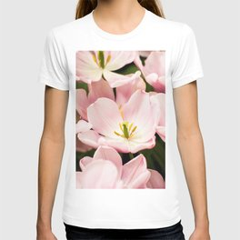 Pink Flowers (Color) T-shirt