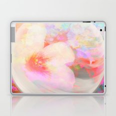 Flowers In The round Laptop & iPad Skin