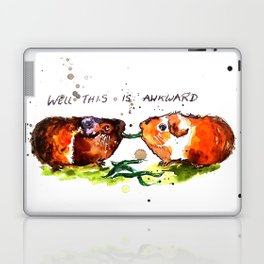 Guinea Pigs Feeling Awkward Laptop & iPad Skin