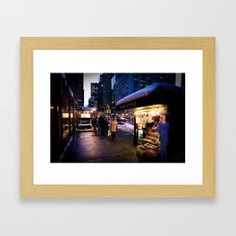 NYC Newsstand  Framed Art Print