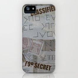 Vintage Detective Design iPhone Case