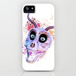 Ankou - colorful head iPhone Case