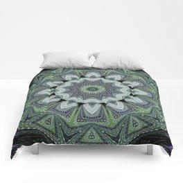 Reflecting Pattern Mandala 2 Comforters