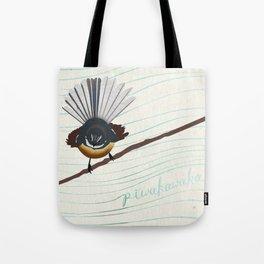 Piwakawaka Tote Bag