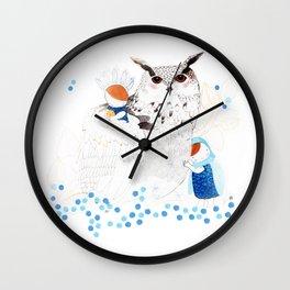 Mamma Owl Wall Clock