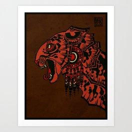 Tezcalipoca Art Print