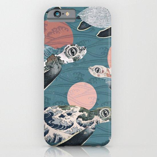 Sea Turtle Polka iPhone & iPod Case