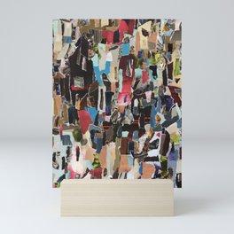 Indistinct Shouting Mini Art Print