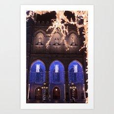 Montréal in November (6 of 11) Art Print