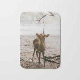 Nara, Japan Deer Fawn Bath Mat