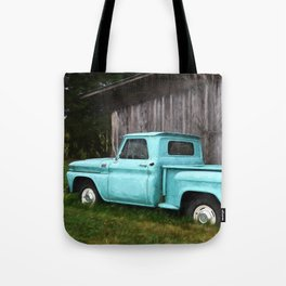 To Be Country - Vintage Truck Art Tote Bag