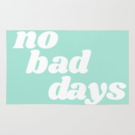 no bad days IX Rug