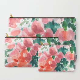 Floral watercolor painting Carry-All Pouch