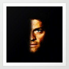 Castiel / Supernatural - Painting Style Art Print