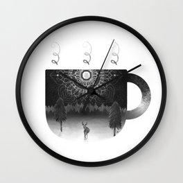 Midnight Coffee Wall Clock