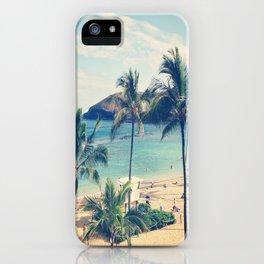 Hanauma Bay iPhone Case