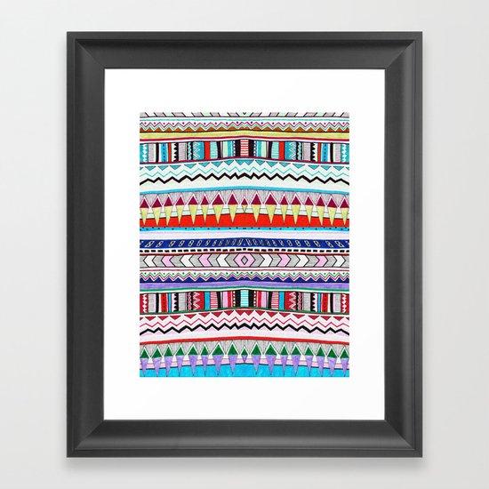 VIVID HUYANA Framed Art Print