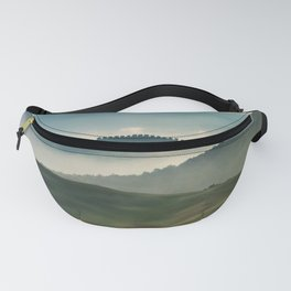 Pretty foggy morning in Toscany Fanny Pack