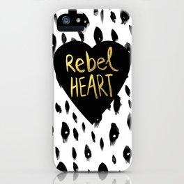 Rebel Heart iPhone Case