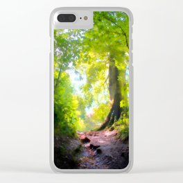 The Glade Ahead Clear iPhone Case
