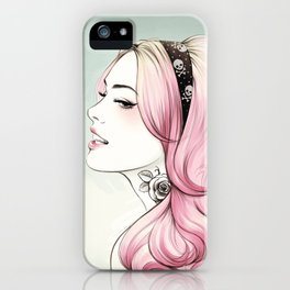 Pink Dye iPhone Case