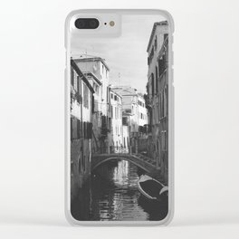 Canal in Venice Clear iPhone Case