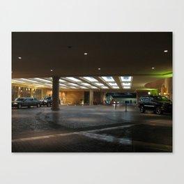 Quiet Vegas Canvas Print
