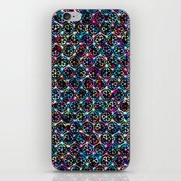 Stardust Geometric Art Print. iPhone Skin