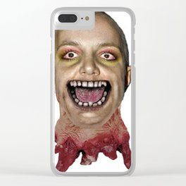 decapitated bald britney Clear iPhone Case