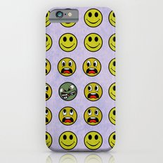 Attack of the Zombie smiley! iPhone 6s Slim Case