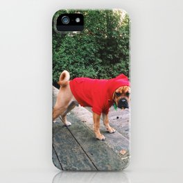 Hank is a fashionkiller iPhone Case