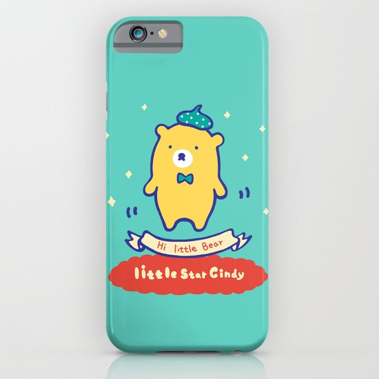 Little baby bear iPhone & iPod Case