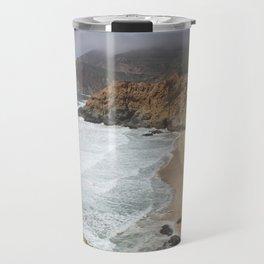 Crashing Waves - California Coast Travel Mug