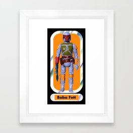 Boba Fett Beach Towel : Smaller Framed Art Print